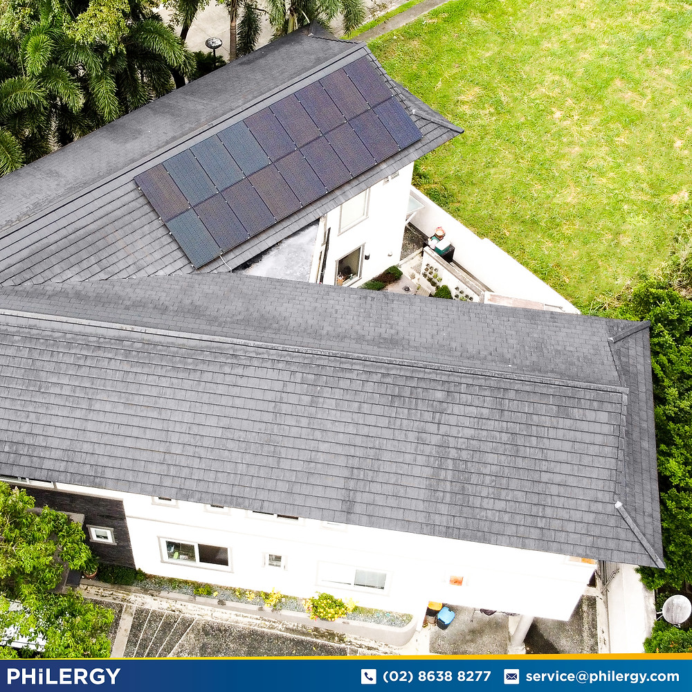 PHILERGY German Solar for homes and businesses  - 5.76 kwp gridtied for Quezon City home - High quality installer for solar power systems and top rated panel packages for residential, commercial and industrial roofs in the Philippines