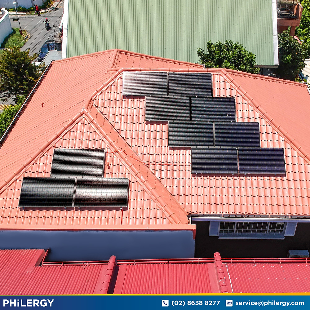 PHILERGY German Solar for homes and businesses  - 3.52 kwp gridtied for Paranaque City home - High quality installer for solar power systems and top rated panel packages for residential, commercial and industrial roofs in the Philippines