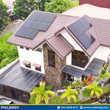 6.08 kWp grid-tied solar system in Tandang Sora, Quezon City - PHILERGY German Solar