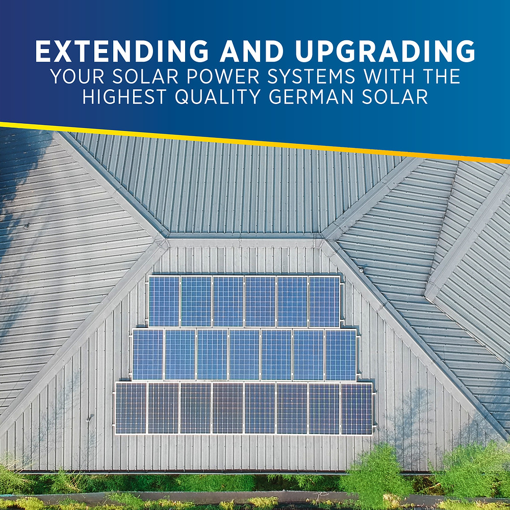 PHILERGY German Solar for homes and businesses - Extending and Upgrading - High quality installer for solar power systems and top rated panel packages for residential, commercial and industrial roofs in the Philippines