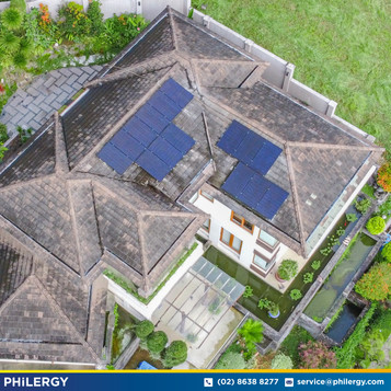 15-panel grid-tied solar system in Ayala Greenfields, Laguna - PHILERGY German Solar