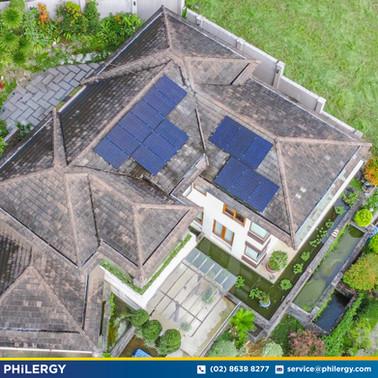 15-panel grid-tied solar system in Ayala Greenfields, Laguna - PHILERGY German Solar