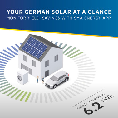 Monitor Solar Energy Generation and Savings: SMA Launches New Energy App