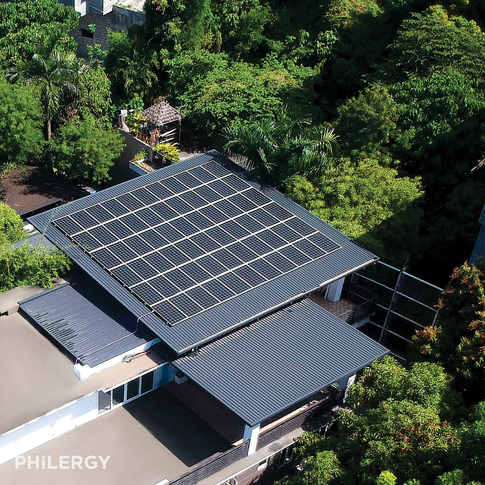 PHILERGY German Solar - 19.8 kwp for homes -  High quality solar panel packages and installations for residential and commercial rooftops in the Philippines