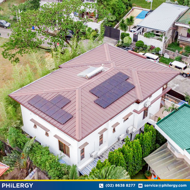 20-panel grid-tied solar system in Quezon City - PHILERGY German Solar