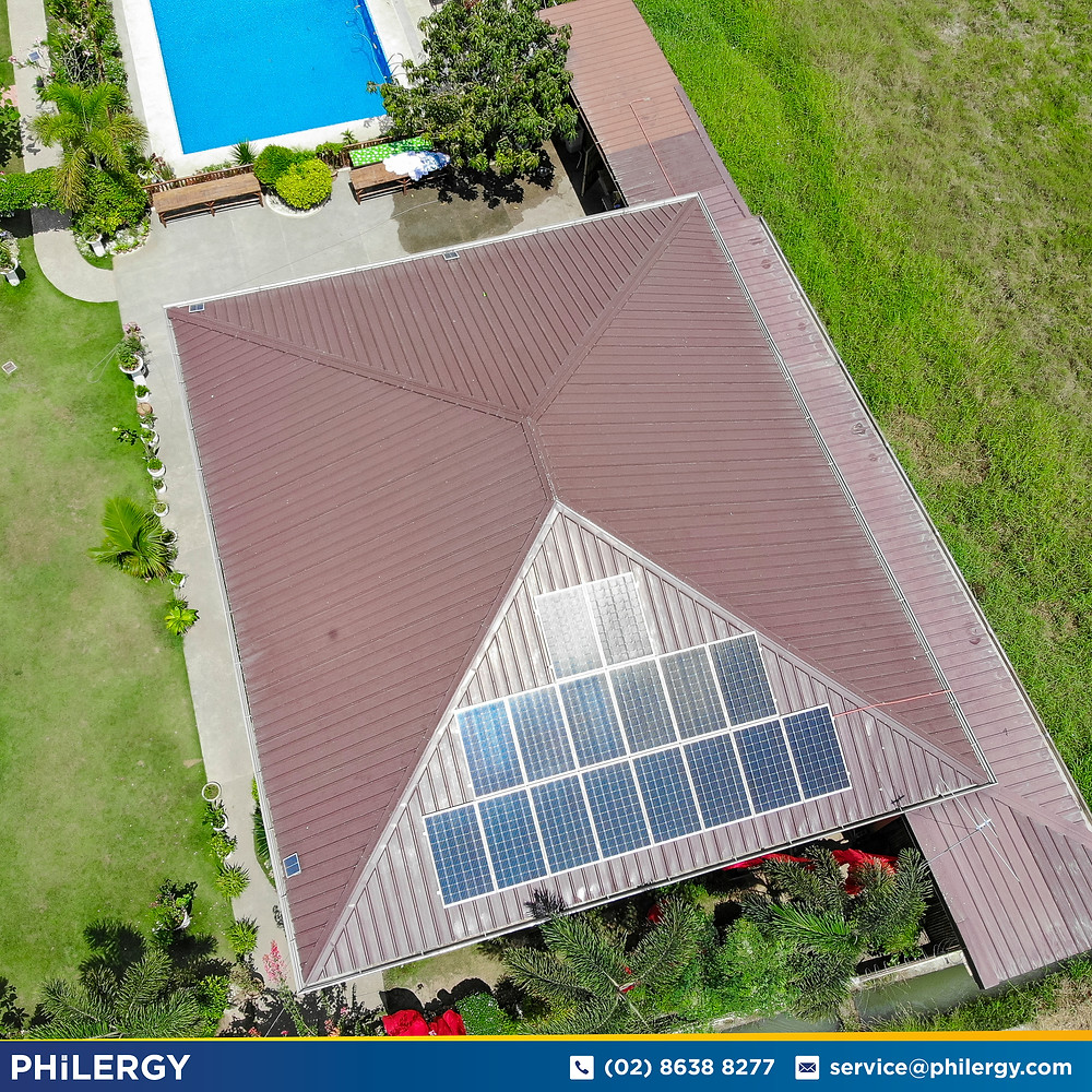 PHILERGY German Solar for homes and businesses  - 3.58 kwp gridtied for Quezon City home - High quality installer for solar power systems and top rated panel packages for residential, commercial and industrial roofs in the Philippines