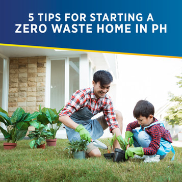 5 Tips for Starting a Zero Waste Home in the Philippines