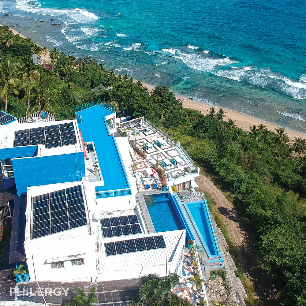PHILERGY German Solar - 18 kwp for San Juan, Batangas resortbuinsess -  High quality solar panel packages and installations for residential and commercial rooftops in the Philippines