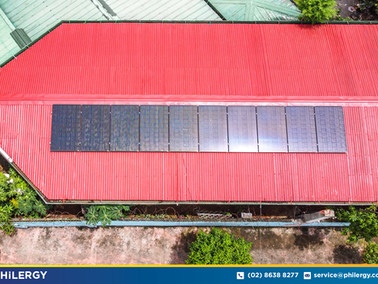 10-panel grid-tied solar system in Parang, Marikina - PHILERGY German Solar