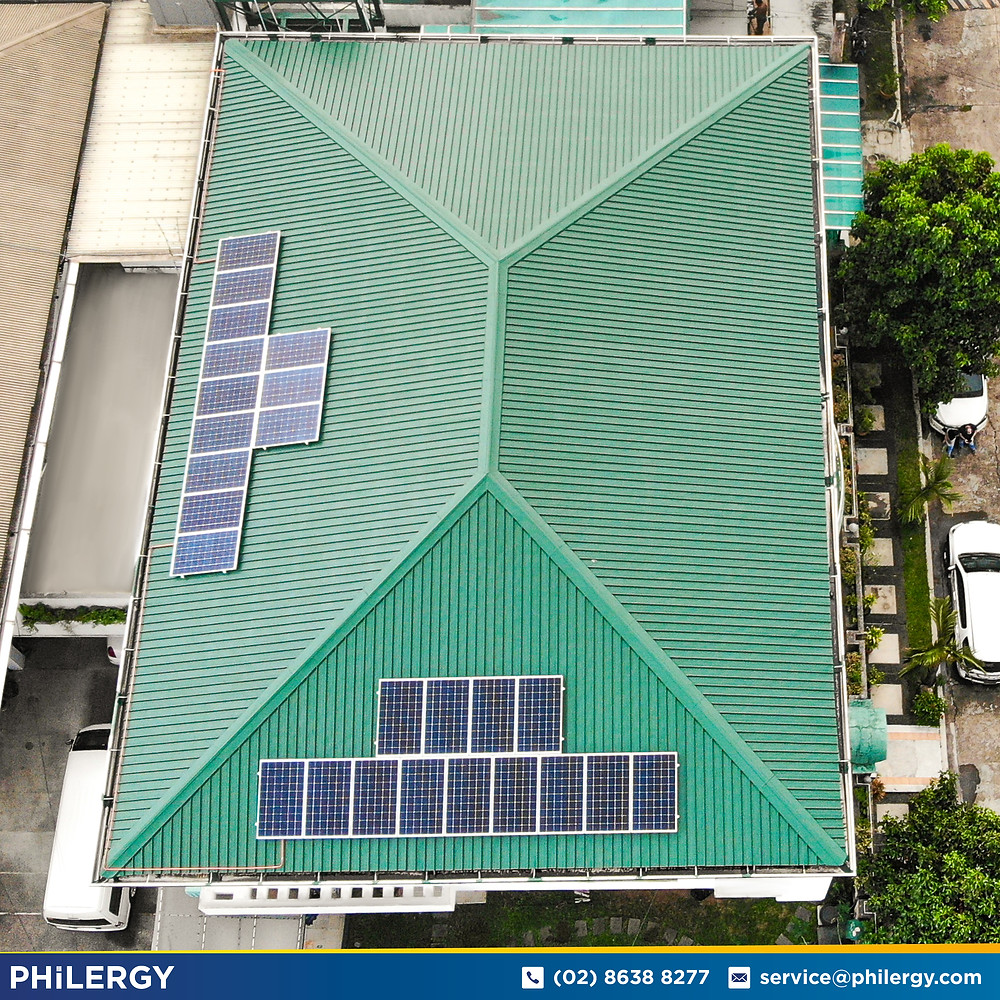 PHILERGY German Solar for homes and businesses  - 7.63 kwp gridtied for Quezon City home - High quality installer for solar power systems and top rated panel packages for residential, commercial and industrial roofs in the Philippines