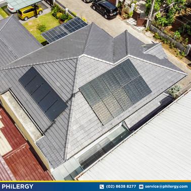 15-panel grid-tied solar system in Batasan Hills, Quezon City - PHILERGY German Solar