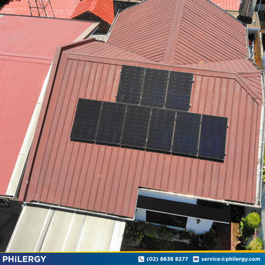 2.88 kWp grid-tied solar system in Country Homes, Muntinlupa City - PHILERGY German Solar