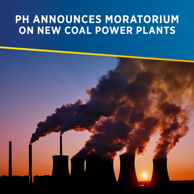 Philippines Announces Moratorium on New Coal Power Plants - PHILERGY German Solar