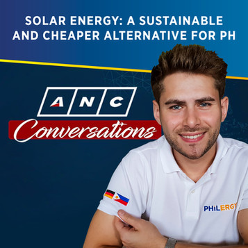 Solar Joe on ANC Conversations: Solar Energy as a Sustainable and Cheaper Alternative for the PH