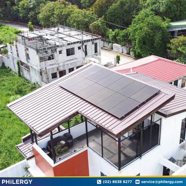 3.84 kWp grid-tied solar system in Concepcion Uno, Marikina City - PHILERGY German Solar