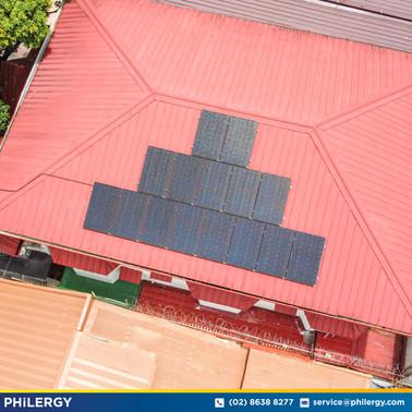 15-panel grid-tied solar system in Green Heights, Marikina - PHILERGY German Solar