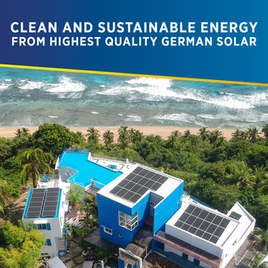 Clean and Sustainable Energy from Highest Quality German Solar for the Philippines