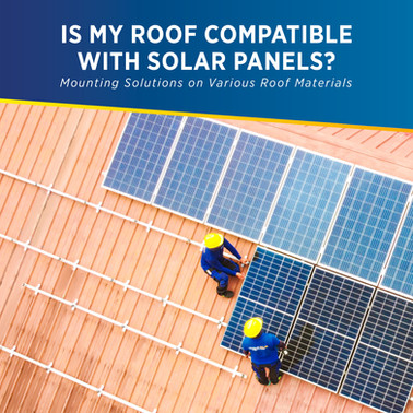 Is my roof compatible with solar panels? Mounting solutions on various roof materials - PHILERGY