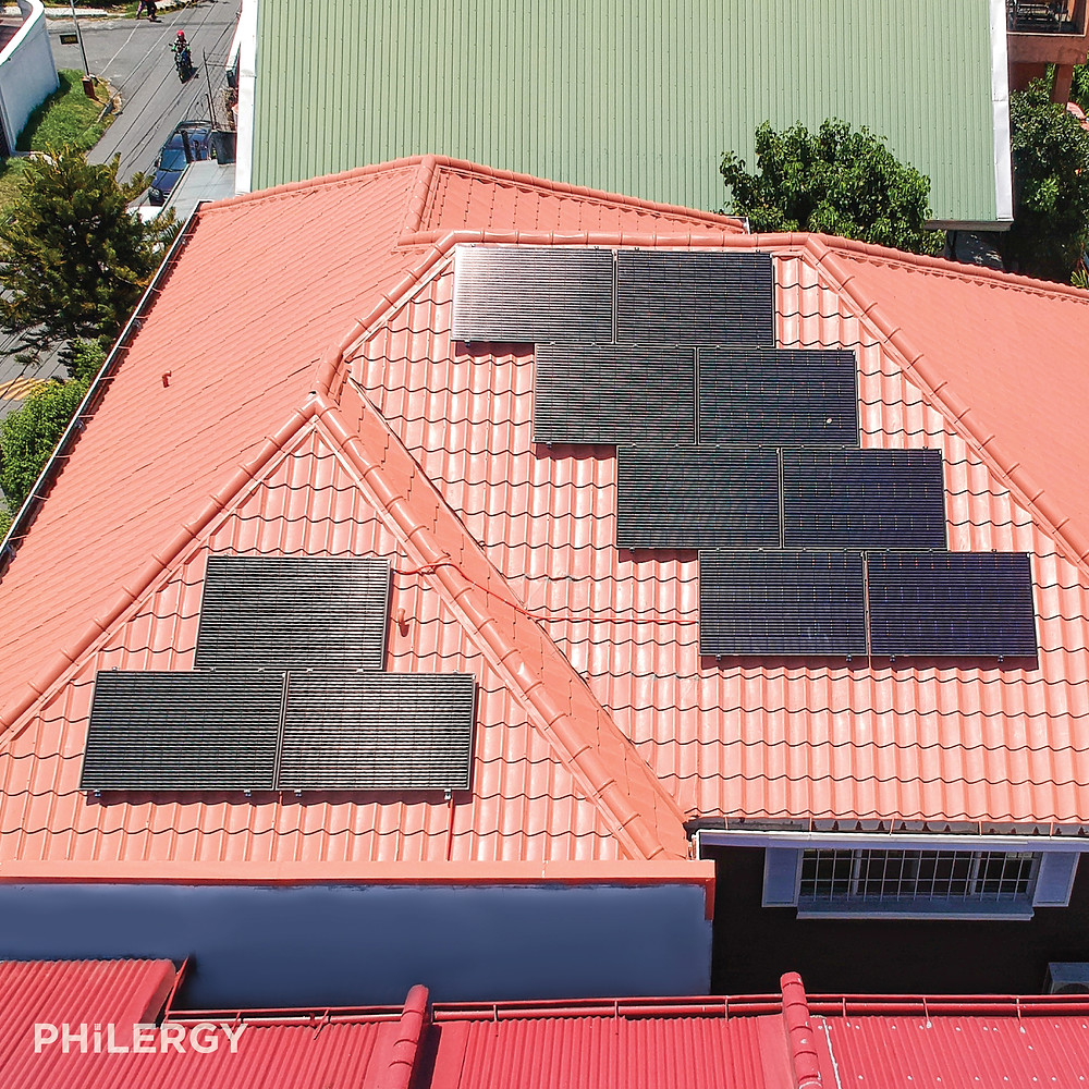 PHILERGY German Solar - 3.52 kWp German Solar System for a Better Living, Parañaque home -  High quality solar panel packages and installations for residential and commercial rooftops in the Philippines