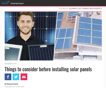 PHILERGY German Solar Managing Director Jochen Staudter featured in GMANetwork.com