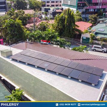 24-panel grid-tied solar system in Philam Homes, Quezon City - PHILERGY German Solar