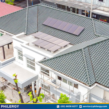 17-panel grid-tied solar system in Mandaluyong City - PHILERGY German Solar