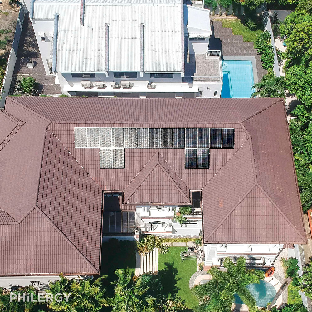 PHILERGY German Solar - 5.1 kWp German Solar System for an Ayala Alabang, Muntinlupa home -  High quality solar panel packages and installations for residential and commercial rooftops in the Philippines