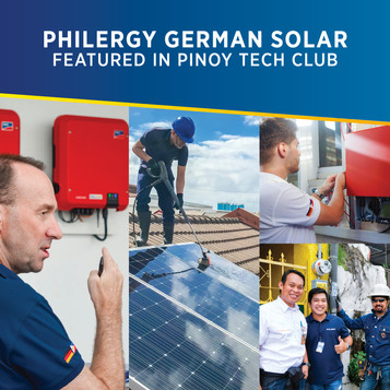 PHILERGY German Solar Featured in Pinoy Tech Club