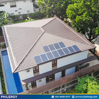 3.3 kWp grid-tied solar system in Ayala Heights, Quezon City - PHILERGY German Solar