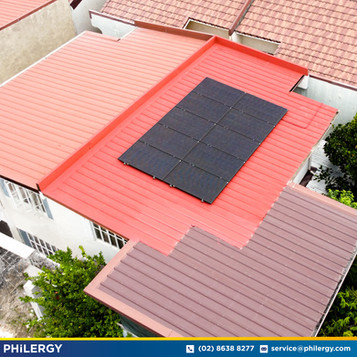 10-panel grid-tied solar system in Imus City, Cavite - PHILERGY German Solar