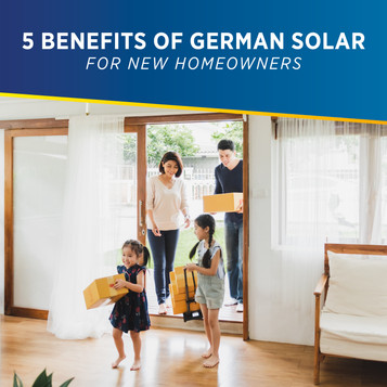 Five Benefits of German Solar for New Homeowners