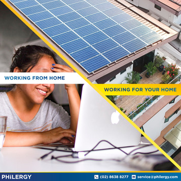 PHILERGY German Solar continues to work from home during ECQ