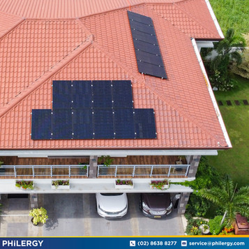 16-panel grid-tied solar system in Baliuag, Bulacan - PHILERGY German Solar