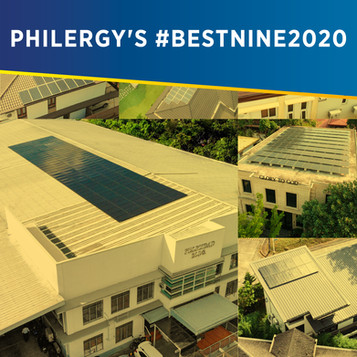 PHILERGY German Solar's #BestNine2020 - Highest Quality Company Solar in the Philippines