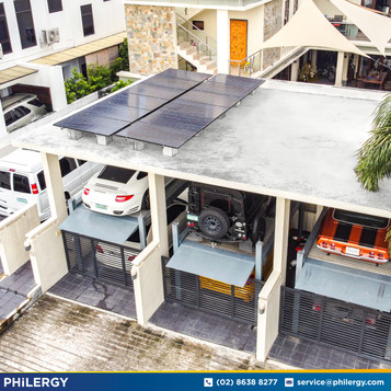 3.84 kWp grid-tied solar system in Vista Real, Quezon City - PHILERGY German Solar