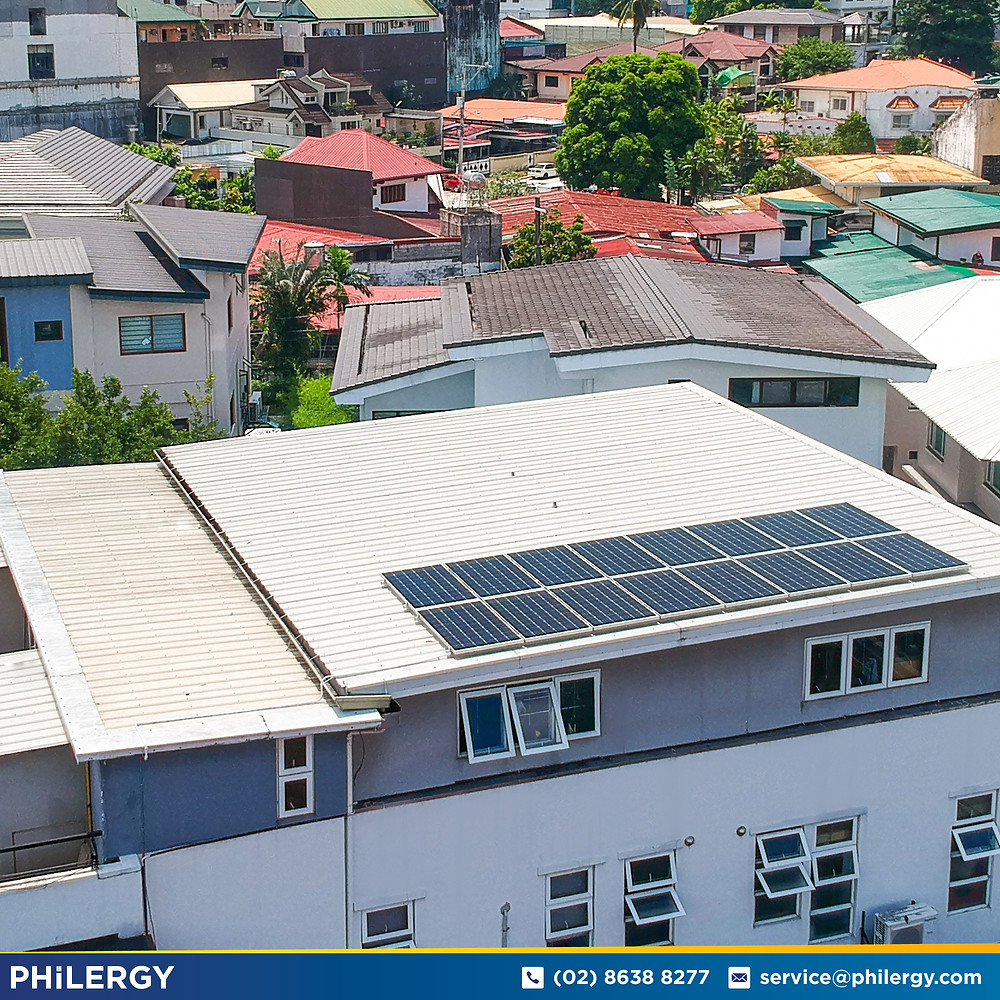 PHILERGY German Solar for homes and businesses  - 4.88 kwp gridtied for Paranaque City home - High quality installer for solar power systems and top rated panel packages for residential, commercial and industrial roofs in the Philippines