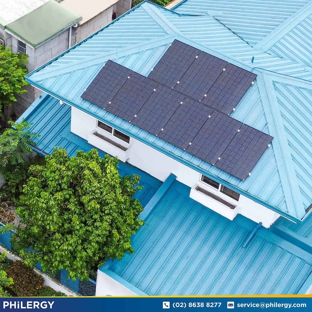 PHILERGY German Solar for homes and businesses  - 3.2 kwp gridtied for Muntinlupa home - High quality installer for solar power systems and top rated panel packages for residential, commercial and industrial roofs in the Philippines