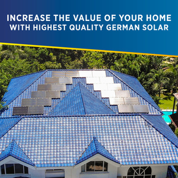 Increase the Value of Your Home with Highest Quality German Solar in the Philippines