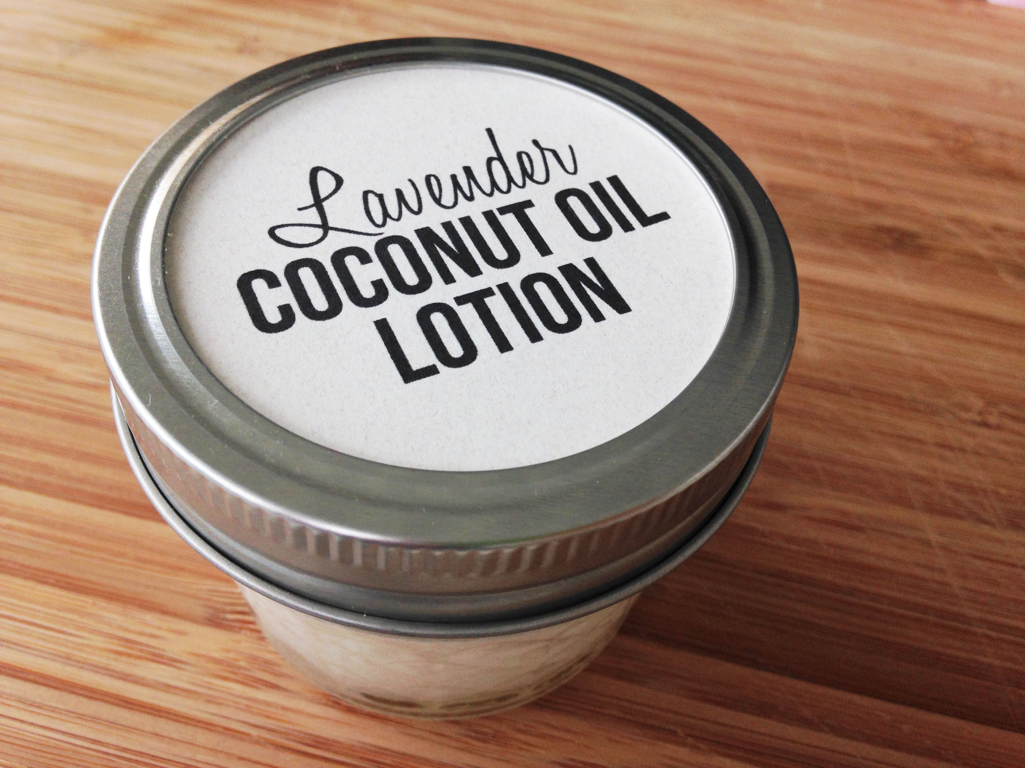 Lavender-Coconut-Oil-Lotion-with-free-printable