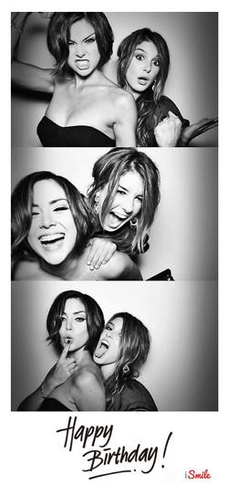 Black & White Photo Booth