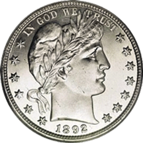 Silver Barber Half Dollar | S&S Coins and Supplies