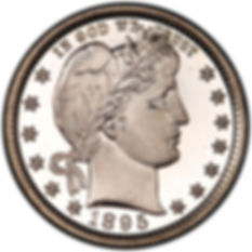 Silver Barber Quarter | S&S Coins and Supplies