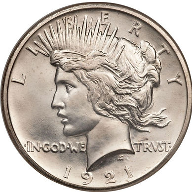 Silver Peace Dollar | S&S Coins and Supplies