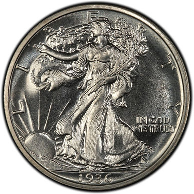 Walking Liberty Half Dollar | S&S Coins and Supplies