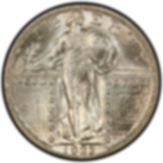 Silver Standing Liberty Quarter | S&S Coins and Supplies