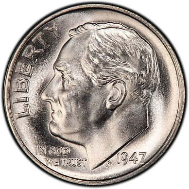 BU Roosevelt Dime | S&S Coins and Supplies