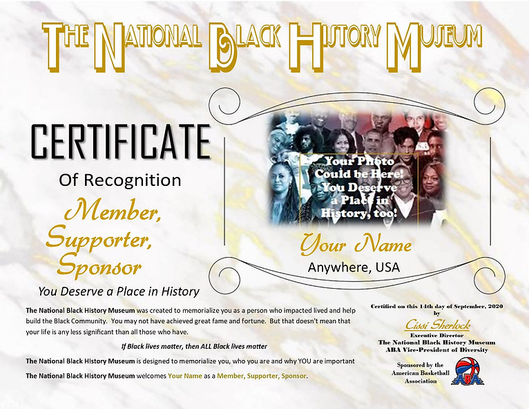 TNBHM Certificate This could be you.jpg