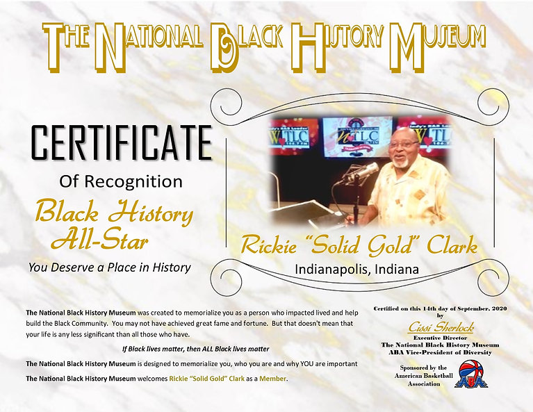 "TNBHM_Certificate_-_Rickie_""Solid_Gold"