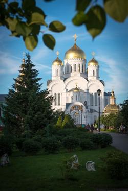 Вид на Преображенский собор