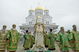 Слово Патриарха Кирилла на праздновании Дня Серафима Саровского в Дивеевском монастыре